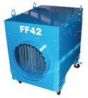 Broughton Super Giant FF42 400V 63a 3 phase 43kw portable industrial fan heater
