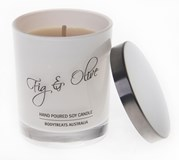 Natural Soy Candle - Fig & Olive