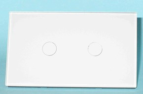 Light Switch Glass Touch 2G