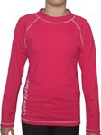 POP PINK LONG SLEEVE SWIM SHIRT - SIZE 14