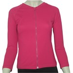 LADIES ZIP SWIM JACKET POP PINK - 3XL