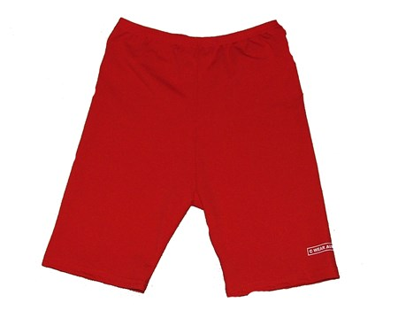 RED SWIM SHORTS - YOUTH