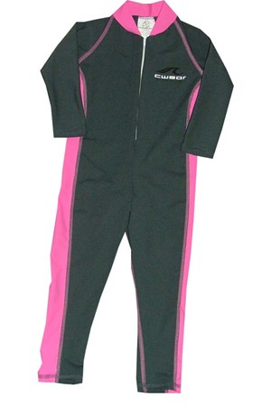 CARBON & PINK STINGER SUITS - SIZE 12 -14