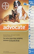 Advocate Dogs Over 55lbs (25kg) - 3 Pack