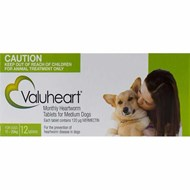 Valuheart Green Dogs 23-44lbs (10-20kg) - 12 Chewables