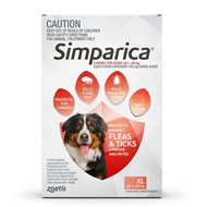 Simparica for Dogs 88.1-132 lbs (40-60 kg) - 3 Pack