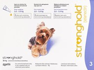 Stronghold Violet Dogs 5-10lbs (2.3-4.5kg) - 3 Pack