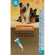 Advocate Dogs 8.8-22lbs (4-10kg) - 1 Pack
