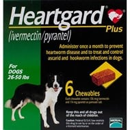 Heartgard Plus Köpek (12-22kg) - 6 Tablets