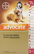 Advocate Dogs 22-55lbs (10-25kg) - 3 Pack