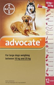 Advocate Dogs 22-55lbs (10-25kg) - 12 Pack