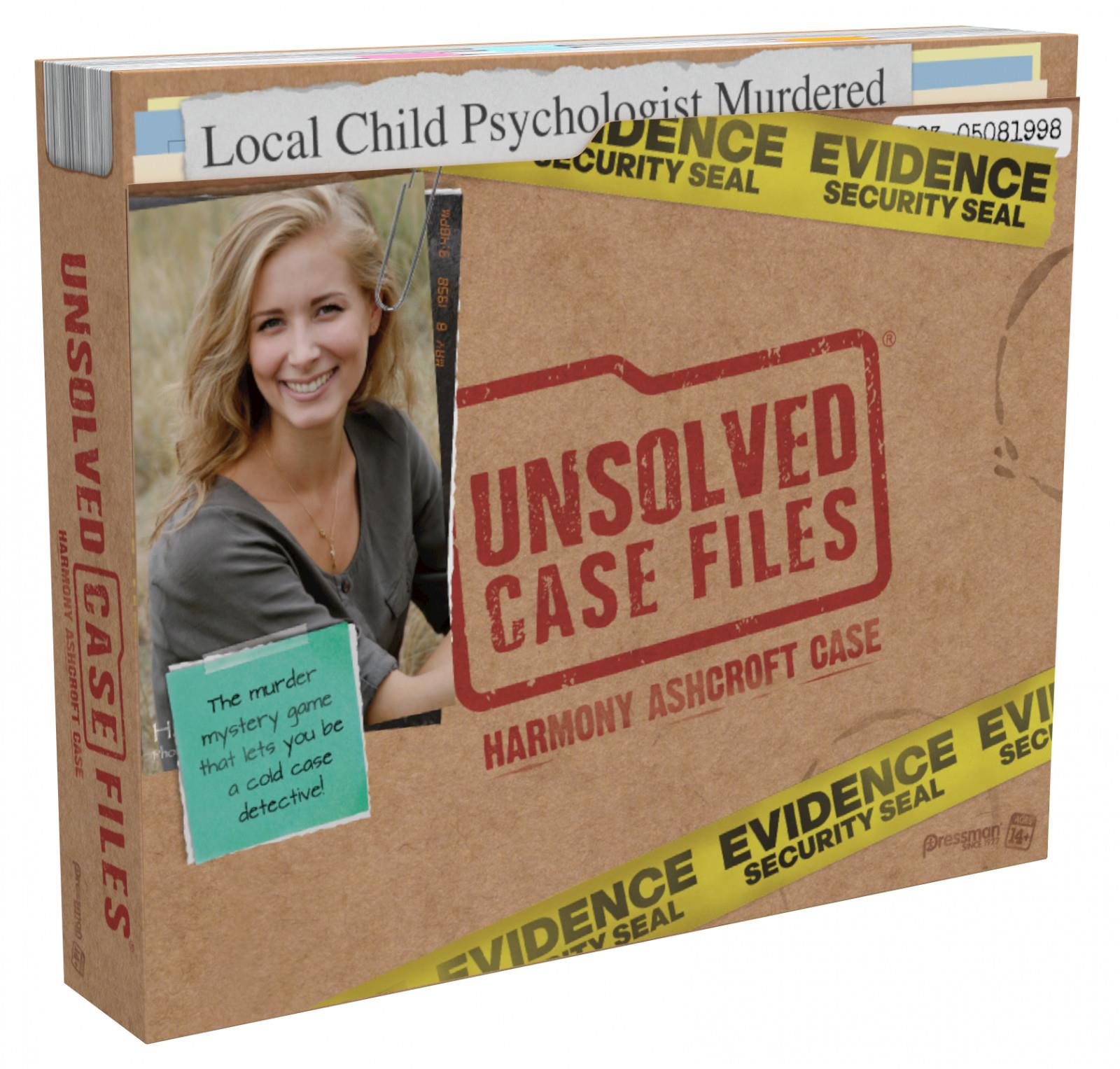 Unsolved Case Files: Harmony Ashcroft - Advent Games