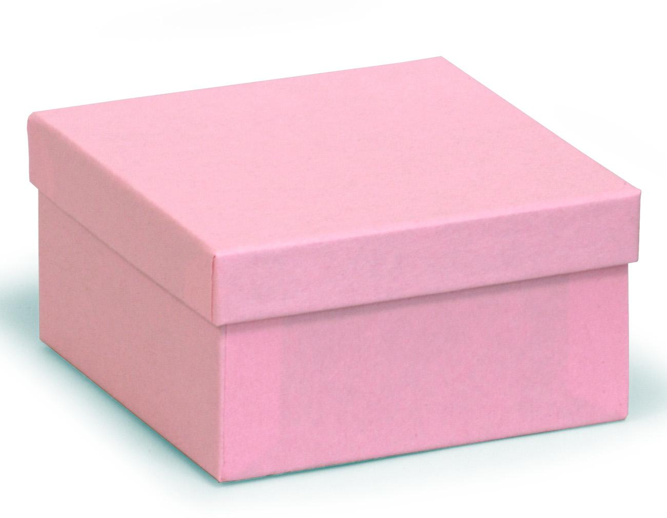 Ikea Bags Square Deeper Recycled Kraft Pink Box 89 X 89 X 51mm