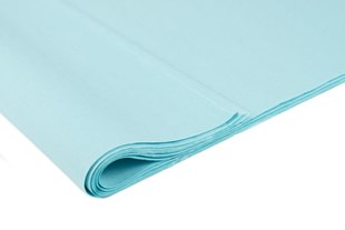 Recycled Azure Blue Tissue Paper   240 Sheets   Small