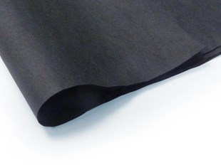 Recycled Large Black Tissue Paper - 240 sheets (L)