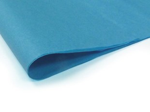 Recycled Turquoise Tissue Paper - 240 sheets  (S) (TPT03)