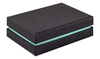 Shoulder Box Collection | Earring Jewellery Box Black & Turquoise