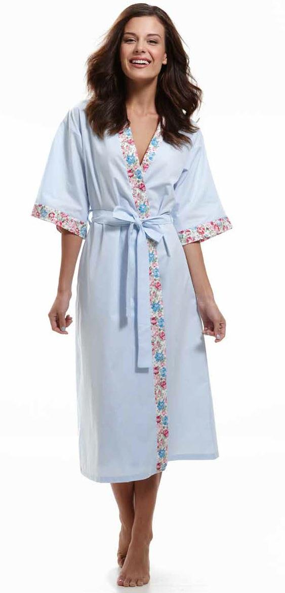 Influence Cotton Kimono Dressing Gown | Pure cotton dressing gown ...