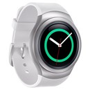 Samsung Gear S2 Smart Watch SM-R7200 / SM-R720 - White - Extra Silicone Strap