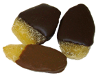 Chocolate Dipped Crystallized Ginger
