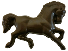 Chocolate Running Horse
