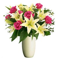 Lilies and Roses, From $55