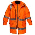 Safety Jacket & Vest Combination 3M tape CROSS BACK