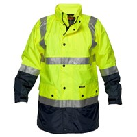 Safety Jacket with mesh lining & 3M tape- 7XL & 9XL