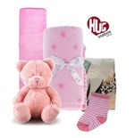 Baby Girl Bear Hamper Hugs