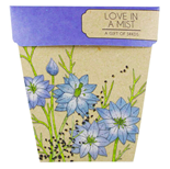 Love In A Mist Gift of Seeds Hug - Gift Card