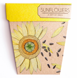 Sunflower Gift of Seeds Hug - Gift Card
