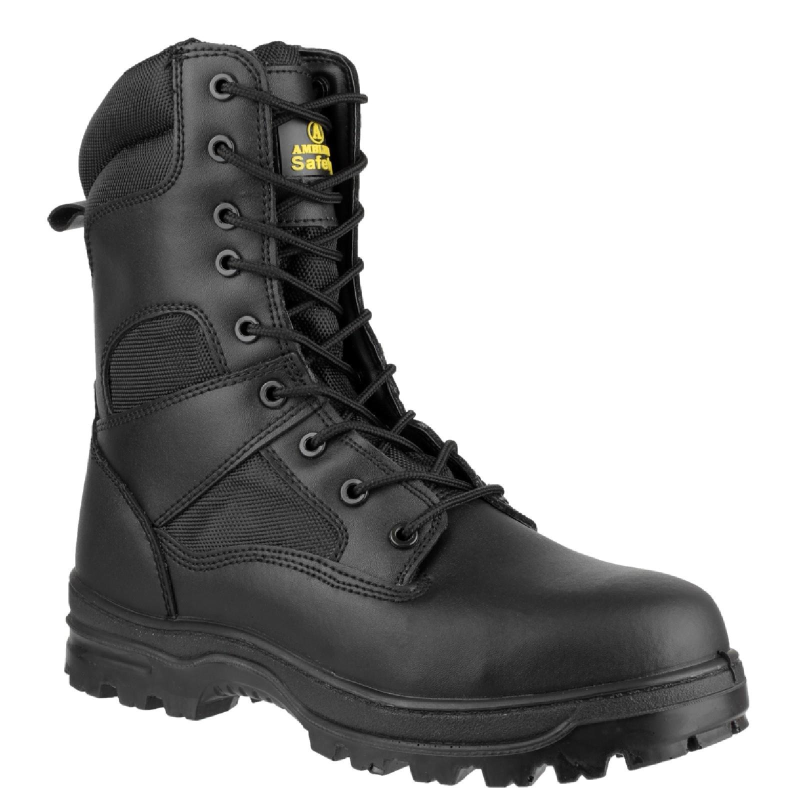 77c16561b49 S3 - SRC - Footsure - Amblers Safety - Black Midsole Safety Boot - Conforms  to EN ISO20345 SRC S3 - FS-FS009C