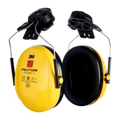 9382d1f69 3M Peltor Optime l Ear Muffs - Helmet Attachment - Conforms to EN 352-2 -  SNR 26 - [3M-H510P3E-405-GU]