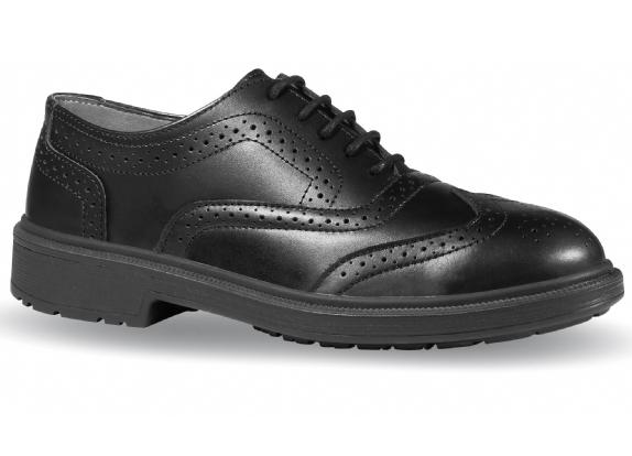 98d5e72460483b S3 - SRC - U-Power Venice Executive Brogue Composite Safety Shoe with  Midsole - Conforms to EN20345 2011 S3 SRC - Black - Pair - BN-141183