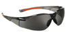 513 UNIVET Smoke Lens Wraparound Safety Spectacles, Anti-Scratch Lens with flexible arms - [UV-513.01.10.02]