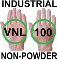 Supertouch - Clear Industrial Powderfree Vinyl Gloves - FOOD SAFE 2002/72/EC - Box of 50 Pairs - ST-11201