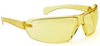 """553Z UNIVET """"ZERONOISE"""" Yellow """"K"""" Rated Anti-Scratch Lens Safety Spectacles - [UV-553Z.01.01.03]"""