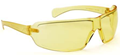 "553Z UNIVET ""ZERONOISE"" Yellow ""K"" Rated Anti-Scratch Lens Safety Spectacles - [UV-553Z.01.01.03]"