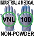 Supertouch - Blue Industrial & Medical Powderfree Vinyl Gloves - FOOD SAFE 2002/72/EC - Box of 50 Pairs - ST-11211