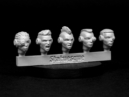 Very-Limited-Release Heroic Scale and Heroic NARROW Techno Raider heads on sale now!