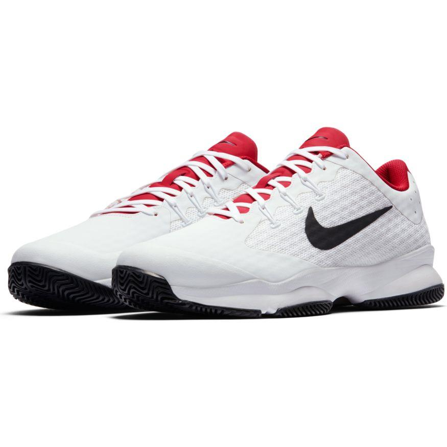 01552ca2b3ce Nike Air Zoom Ultra Mens Tennis Shoes white black uni red 845007-160