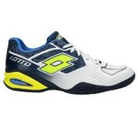 Lotto Stratosphere II Clay Men's Tennis Shoes white yellow navy