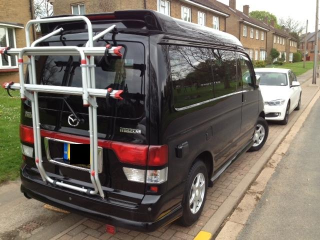 Fiamma Carry Bike For Mazda Bongo Everything Fiamma