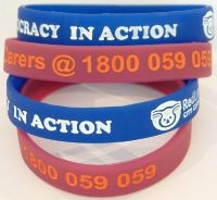 Silicone Wristbands - Colour Filled