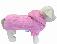 Edinburgh Pet Sweater (Light Pink)