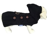 Paris Black Dog Sweater