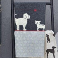 Charcoal Love Cat & Dog Blanket