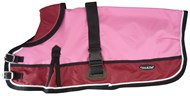 Waterproof Dog Coat 3022-B Red/ Pink