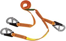 Burke Safety Line 2 metre with 3 hooks