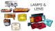 LAMPS FORD TRADER TRUCK PARTS 1981-